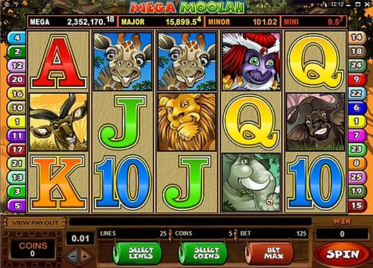Maga Moolah im Casino Euro spielen
