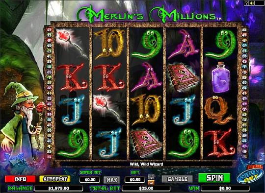 Merlins Millions spielen