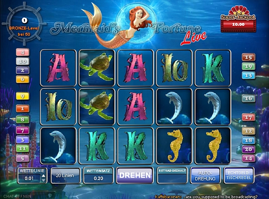 Mermaids Fortune im Casino Euro