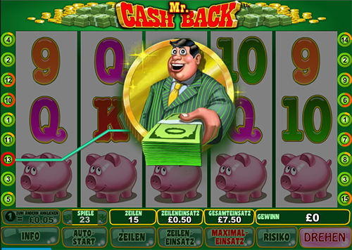mr cash back online slot im william hill online casino