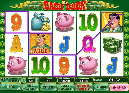 Mr. Cashback spielen