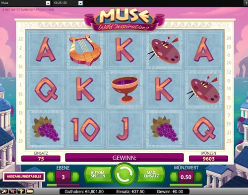 muse online slot im casinoeuro spielen