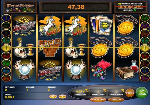 mystic fortune online slot im casinoclub spielen