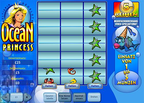 ocean princess slot im william hill online casino
