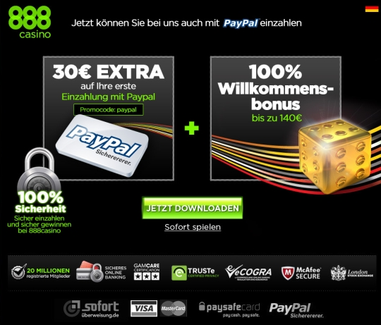 online casino paypal fast money
