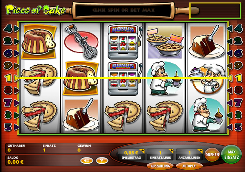 piece of cake online slot im casinoclub