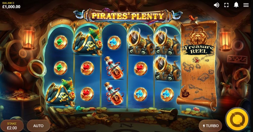 Pirates Plenty The Sunken Treasure Vorschau