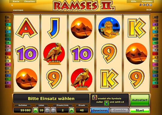 Ramses II spielen