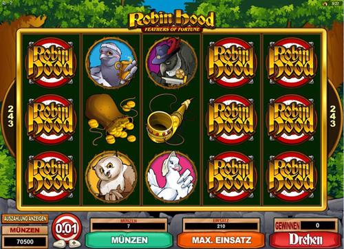 robin hood online slot im spinpalace casino