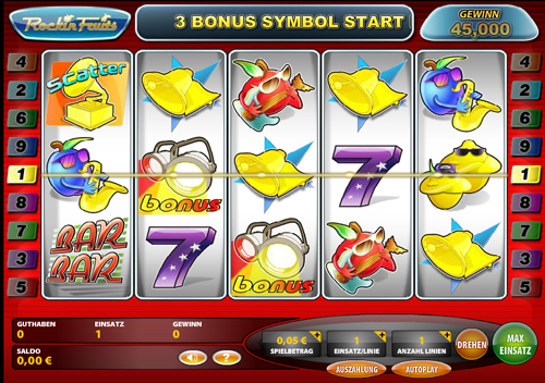 rockin fruits online slot im casinoclub