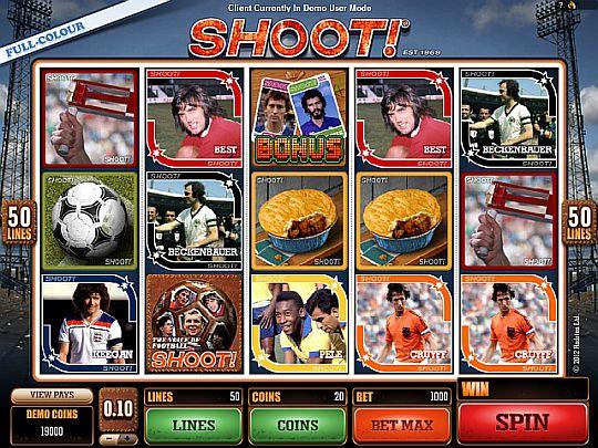 Shoot Videoslot
