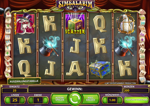 simsalabim online slot im mr green casino