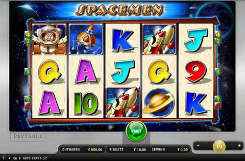 spacemen online slot im sunmaker casino spielen