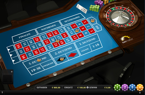 Roulette Zero Spiel