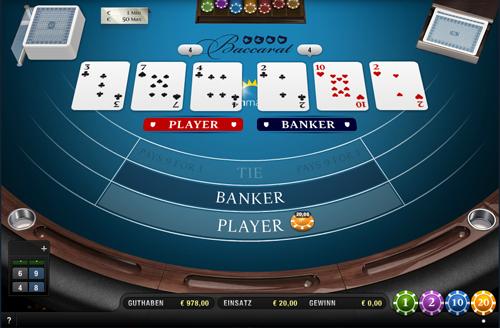 sunmaker baccarat von merkur im online casino spielen