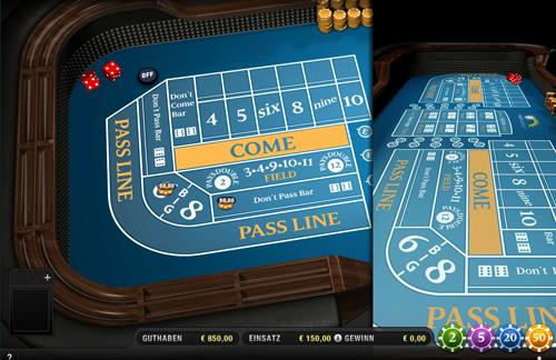 sunmaker craps im online casino spielen