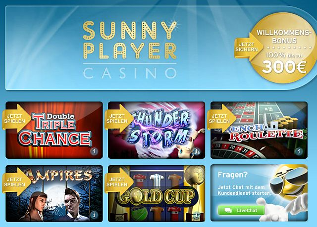 Jetzt bei Sunnyplayer spielen