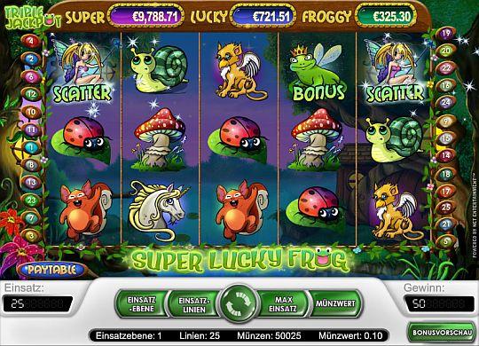 Super Lucky Frog spielen
