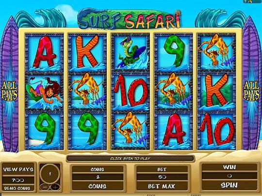 Surf Safari Spielautomaten