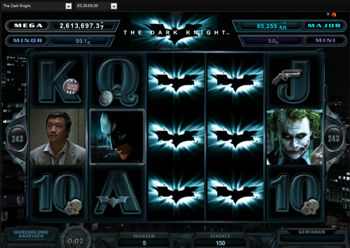 the dark night online slot im casinoeuro