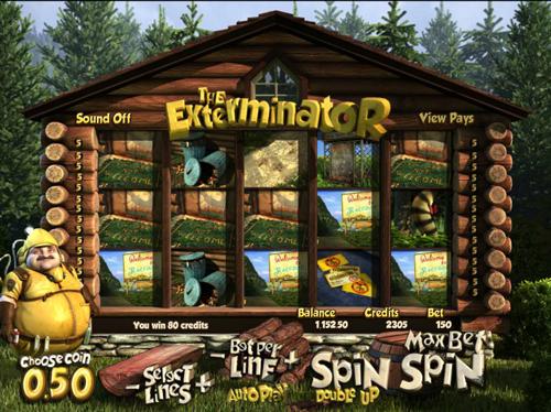 the exterminator online slot im mr green casino