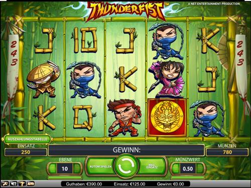 thunderfist casino spiel im mr green casino