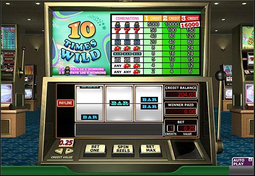 10 times wild slot im 888 casino spielen