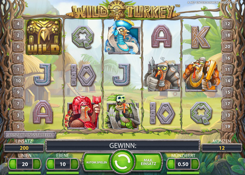 wild turkey casino spiel im mr green casino