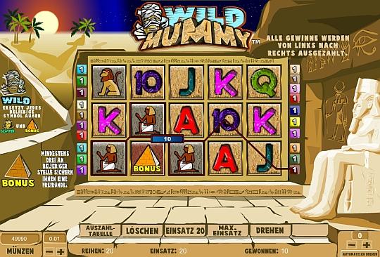 Wild Mummy online spielen