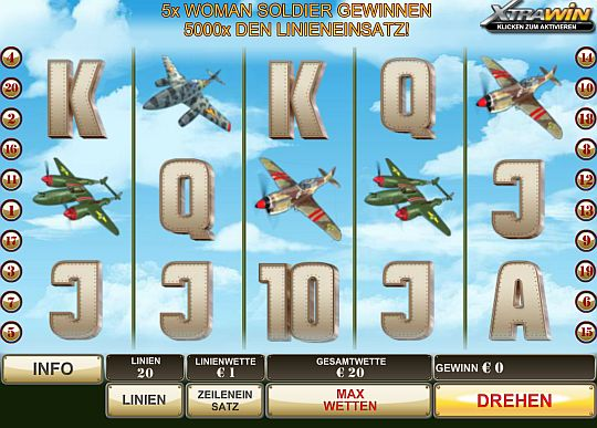 Wings of Gold online spielen im Swiss Casino