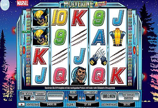 Wolverine Marvel Slot