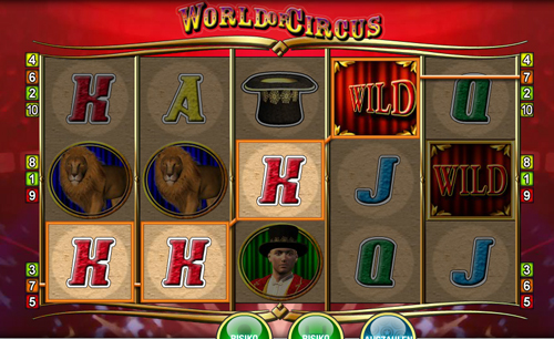 world of circus online slot im sunmaker casino