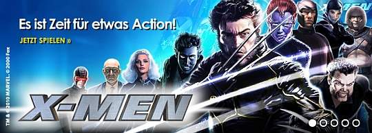 X-Men - jetzt neu im Casino Euro