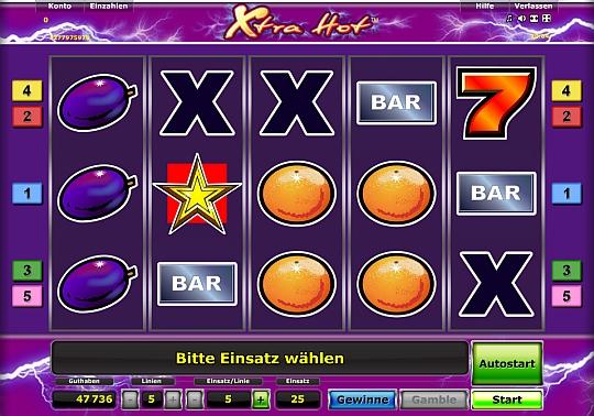 Xtra Hot bei Stargames spielen