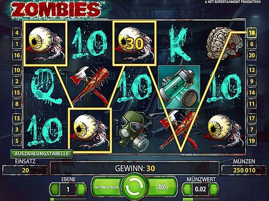 Zombies Slot von NetEnt